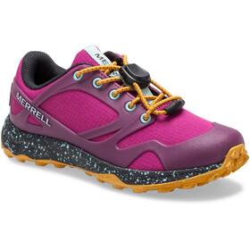 Merrell Altalight Low A/C Waterproof Shoes Kids, fuchsia